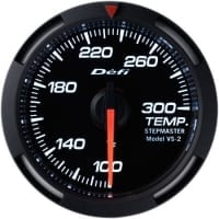 DEFI White Racer 52mm Temperature (water or oil) Gauge (US) | DF06703