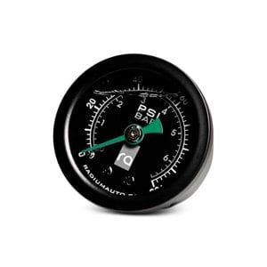 Radium 100 PSI Fuel Pressure Gauge with 8AN Adapter