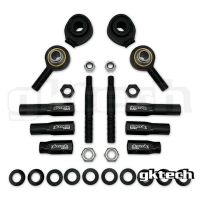 GKTech High Misalignment (64 DEGREES) Outer Tie Rod Ends (14MM)