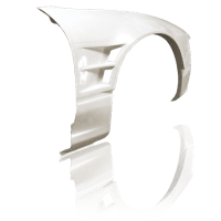 Origin Lab Type 3 +55mm Front Fender – 180SX
