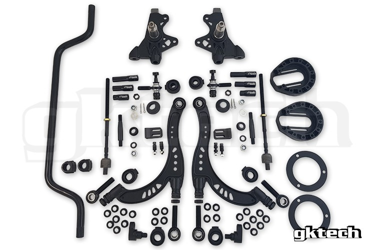 GK TECH S chassis Super Lock Angle Kit Combo