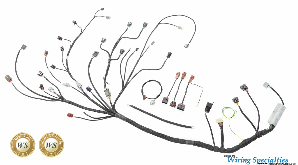 wiring specialties rb25det neo wiring harness for datsuns