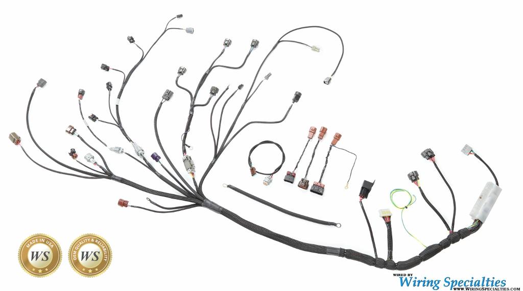 Wiring Specialties S14 SR20DET Silvia S14 Wiring Harness