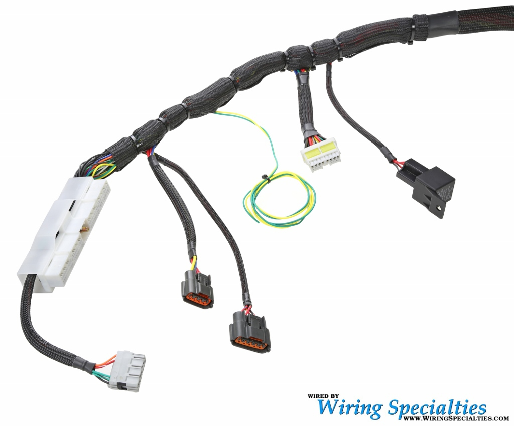 Wiring Specialties S14 Sr20det Harness For 180sx Irace Auto Adapter Additionally Nissan Car Audio