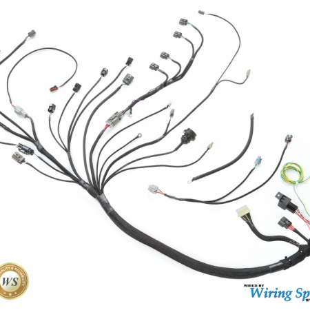 Wisprbs2coha moreover Ls1 Ignition Coil Wiring Diagram furthermore Wiring Harness Looming furthermore Wiring Specialties Sr20det Pro Harness in addition Wsprs14srins1. on ls1 coil pack harness