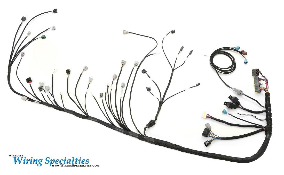 wiring specialties 2jzgte s13 240sx wiring harness irace auto sports wiring specialties 2jzgte s13 240sx wiring harness