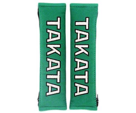 "Takata 2"" Shoulder Pads - Green"