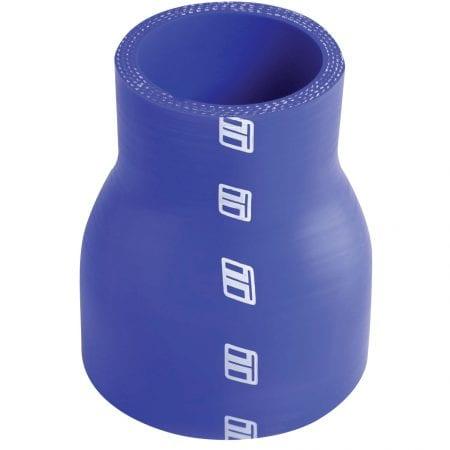 "Turbosmart Silicone Hose Reducer 3.00-4.00"" - Blue"