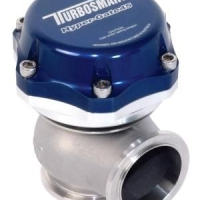 Turbosmart 45mm Hypergate Wastegate - 35psi Blue