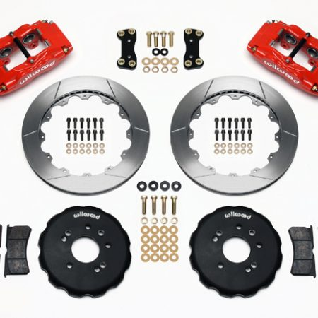 Wilwood Big Brake Front Brake Kit (Hat) - 4 Piston - Nissan 240SX