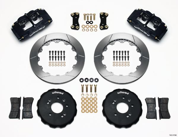 Wilwood Big Brake Front Brake Kit (Hat) - 4 Piston - Nissan 240SX