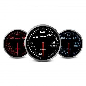 Defi Advance BF Series (Metric) 60mm turbo set 200kpa gauge – white
