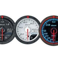 Defi Advance CR Series 60mm exhaust temp gauge - white