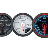 Defi Advance CR Series 60mm turbo 120kpa gauge – black