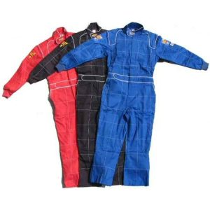 DJ Safety Firesuit SFI 3-2A/5 1PC Suit - Black