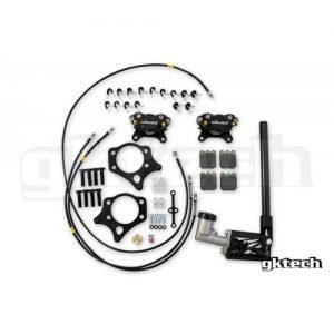 GKTech Dual Caliper Hydraulic Handbrake Kit