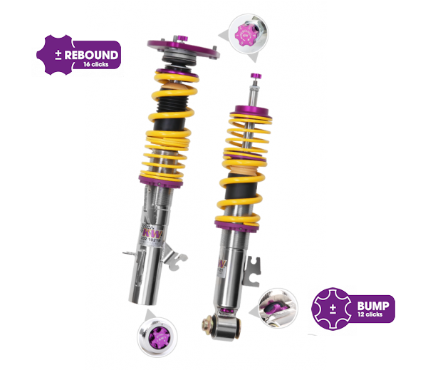 KW 35275820 Coilover Kit ND Clubsport Kit, 2 Way 35275820, Mazda MX-5