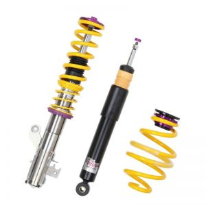 KW V2 Coilovers – VW Golf I / Rabbit / Jetta I /Scirocco I+II; excl. Caddy
