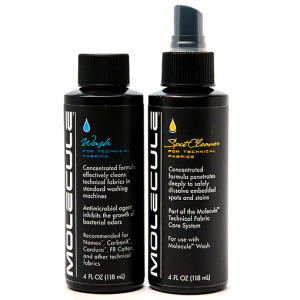 Molecule Racing Suit Wash Kit (2) - 4 oz. Sprayer