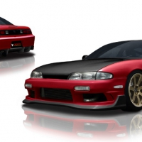 Origin Lab Racing Line Body Kit - Silvia S14 Zenki