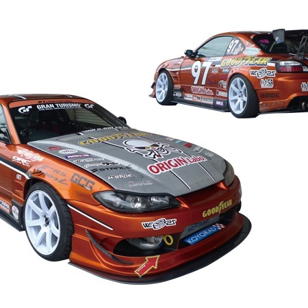 Origin Lab Racing Line Body Kit - Silvia S15