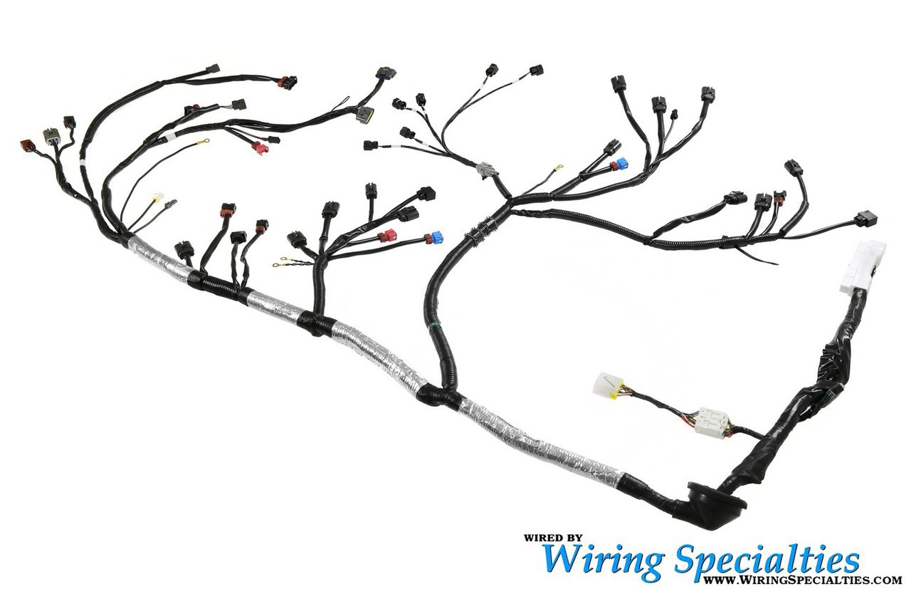 Wiring Specialties Vg30dett Harness Combo Irace Auto Sports Clipart