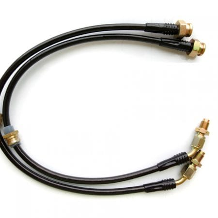 Agency Power Front Steel Braided Brake Line Conversion 240SX to 300zx