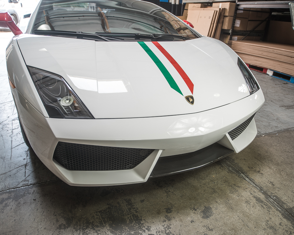 ... Agency Power Carbon Fiber Front Spoiler Lamborghini Gallardo LP560 4  LP550 2 09  ...