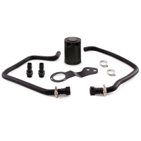 Mishimoto 2016+ Chev Camaro SS Baffled Oil Catch Can Kit – Black