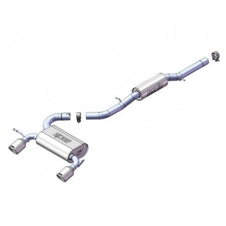 "Borla GMC Yukon XL 2500 Cat-Back™ System - 2.75"", 2"""
