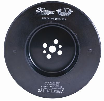 Fluidampr Harmonic Balancer - Pontiac 389, 400, 421, 428, 455 CID V-8