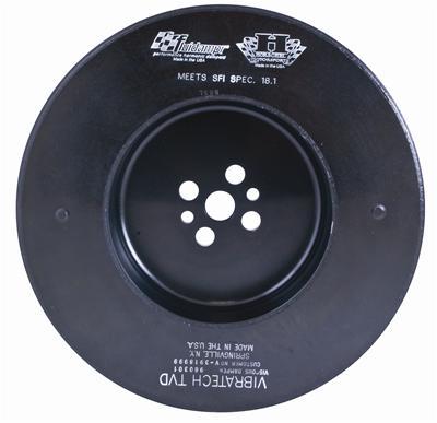 Fluidampr Harmonic Balancer - Ford PowerStroke 6.7L 2011 +