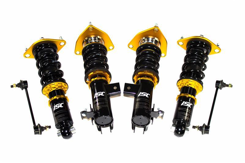 ISC Suspension N1 Coilovers – 04-10 BMW 528