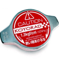 Koyo Radiator Cap: RED N/A A-Type Deep Plunger type
