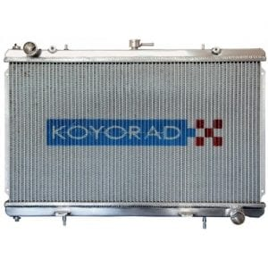 "Koyo Aluminum Radiator: 89-92 Mazda RX7 ""N-FLO"" Dual Pass"