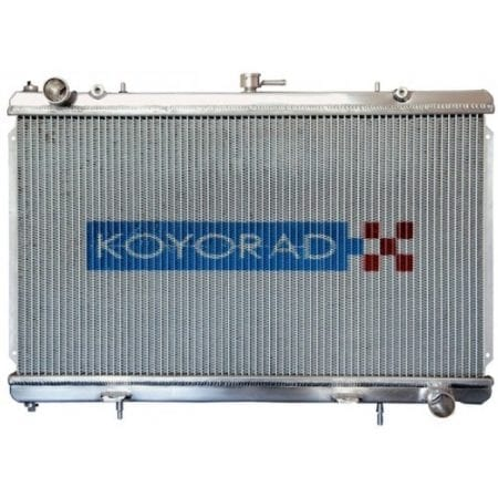 "Koyo Aluminum Radiator: 93-95 Mazda RX7 ""N-FLO"" Dual Pass"