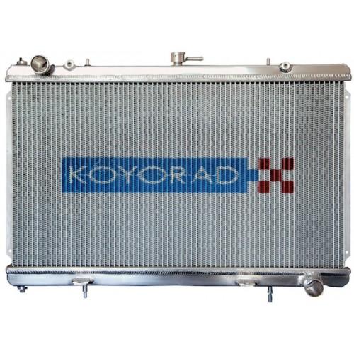 Koyo Aluminum Radiator: 93-98 Toyota Supra 2JZGTE (6 spd)