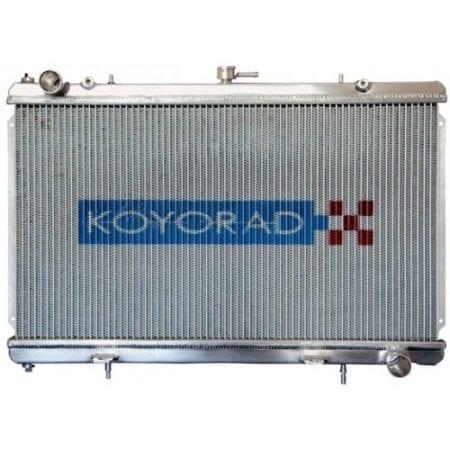 "Koyo Aluminum Radiator: 96-00 Toyota Chaser (JZX100) ""N-FLO"" Dual Pass"