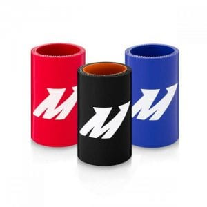 Mishimoto 2.5in Black Silicone Coupler w/ 1/8in NPT Bung