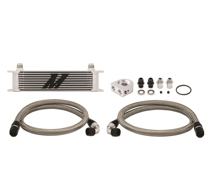 Mishimoto Universal 19 Row Oil Cooler – Gold