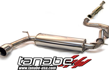Tanabe Medallian Touring Cat Back Exhaust - Acura Integra Hatchback (1992-1993)