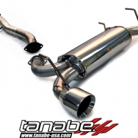 Tanabe Medallian Touring Cat Back Exhaust – Infiniti G35 Coupe (2003-2007)