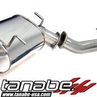 Tanabe Medallian Touring Cat Back Exhaust - Infiniti G35 Sedan (2005-2006)