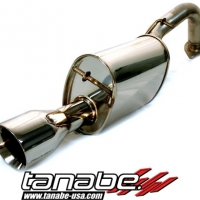Tanabe Medallian Touring Cat Back Exhaust - Toyota Yaris Hatchback (2007-2011)