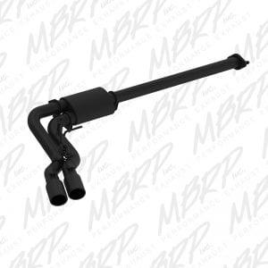 MBRP 3″ Cat Back, Single Side Dual Outlet, Black Coated – 2015-2016 Ford F150