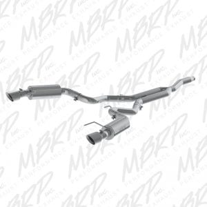 MBRP 3″ Cat Back w/ Dual Split Rear – 2015-2016 Ford Mustang 2.3 Ecoboost