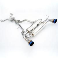 Invidia 09-UP Nissan 370Z Gemini Single Layer Titanium Tips Cat-Back