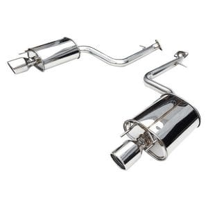 Invidia 13-UP Lexus IS250/350 Q300 Rolled S.S.Tip Axle-Back (No Mid-Pipe)