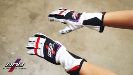 DND Nomex Auto Racing Gloves