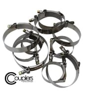 ISR Performance Couplers and Clamps – T-Bolt Hose Clamp – 3.50″+8mm